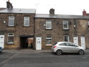 Terraced house in High Street, Dodworth...