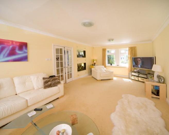Beige Soft Furnishings Living Room Design Ideas Photos