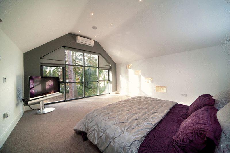 Beige Purple Master Bedroom Design Ideas Photos