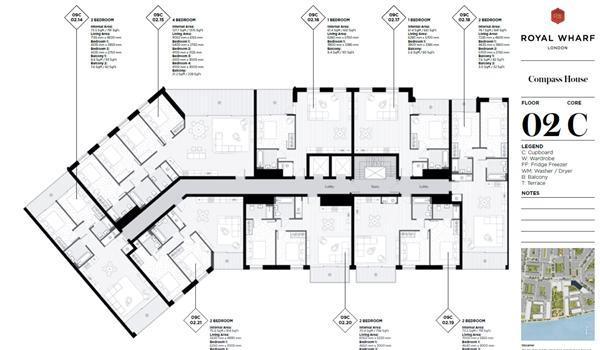 Block Floor Plan