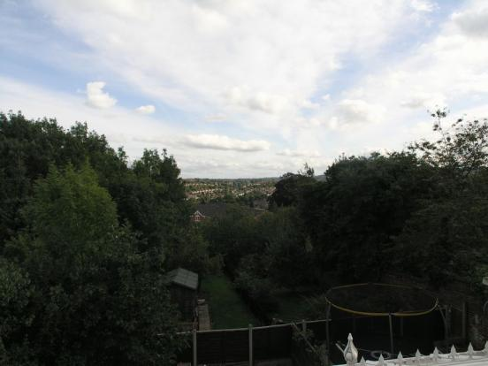 Views to rear
