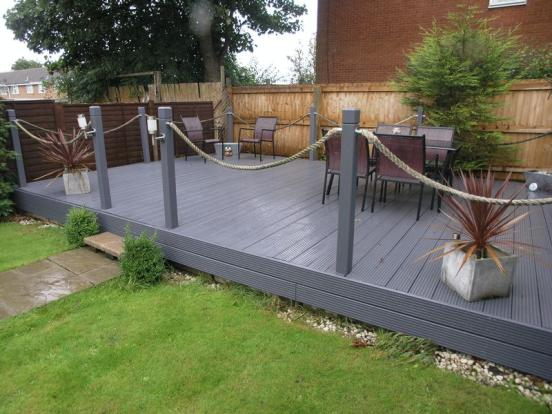 Decked area