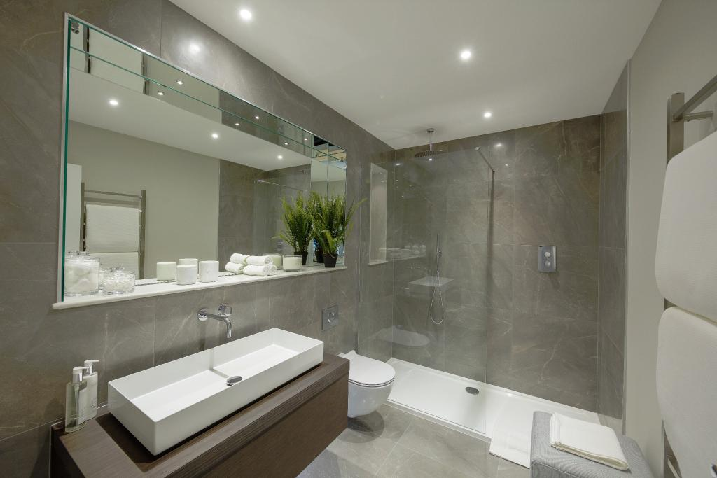 Alfred Homes,Bathroom