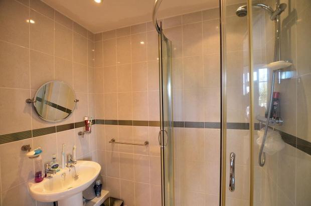 Ensuite shower room.