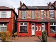 semi detached property in Victoria Road, Urmston...