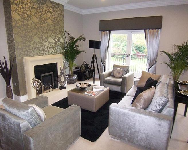 Contemporary living room design ideas photos inspiration rightmove home ideas - Silver living room designs ...