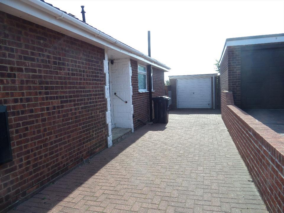 GARAGE AND DRIVEWAY
