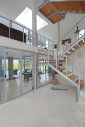 Downstairs stairs