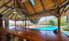 Pool house area