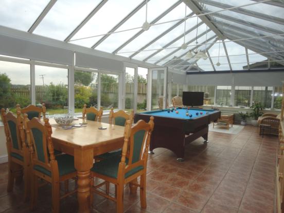 huge conservatory