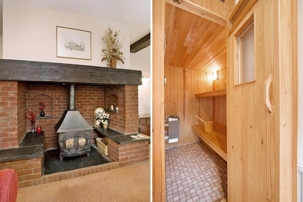 Wood Burner/Sauna