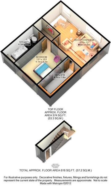 Floor Plan - 3d