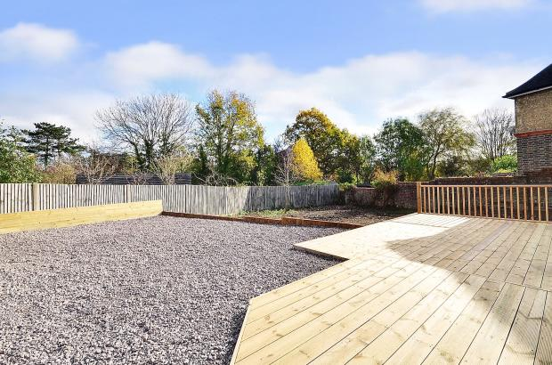Timber Decked Area