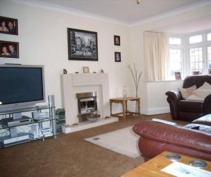 Bay window fireplace design ideas photos inspiration rightmove home ideas - Deco lounge grijs en beige ...