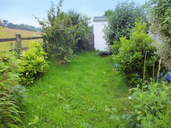 Rear small garden