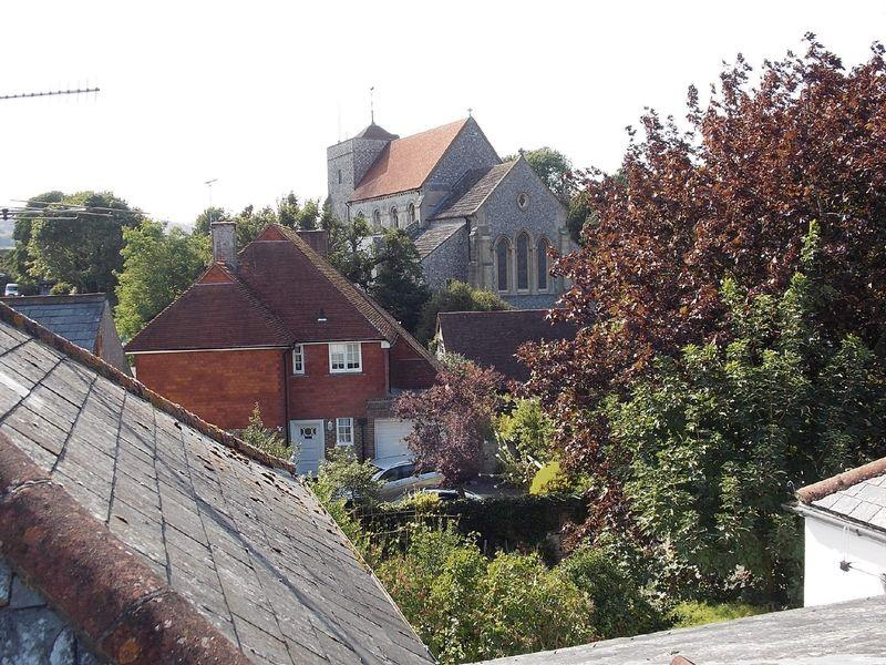 View to church...