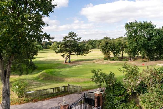 View Over Golf Club