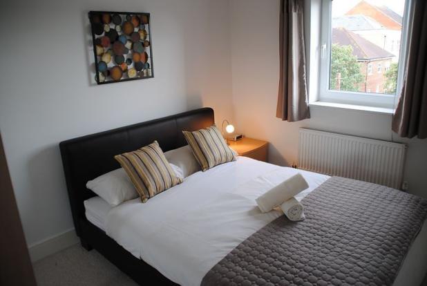 A spacious two bedro