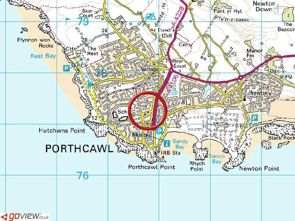 Land For Sale In Row Of Lock Up Garages Amp Yard Rear Of Fenton Place Porthcawl Bridgend County