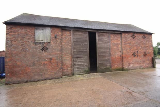 Barn with Planning
