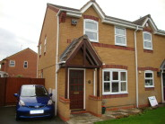 3 bed semi detached home in The Crescent, Stafford