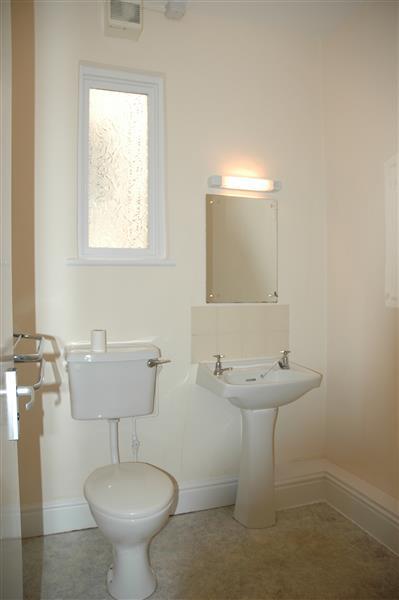Mezzanie shower room