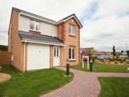 new property in Cumbernauld Road, Stepps...