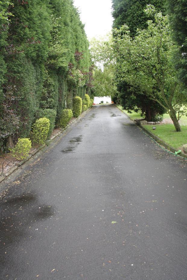 Main entrnce driveway