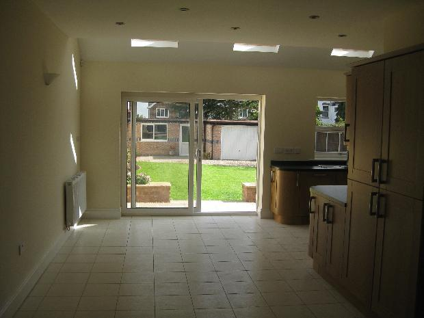 Spacious Dining Area with patio doors on to patio and garden