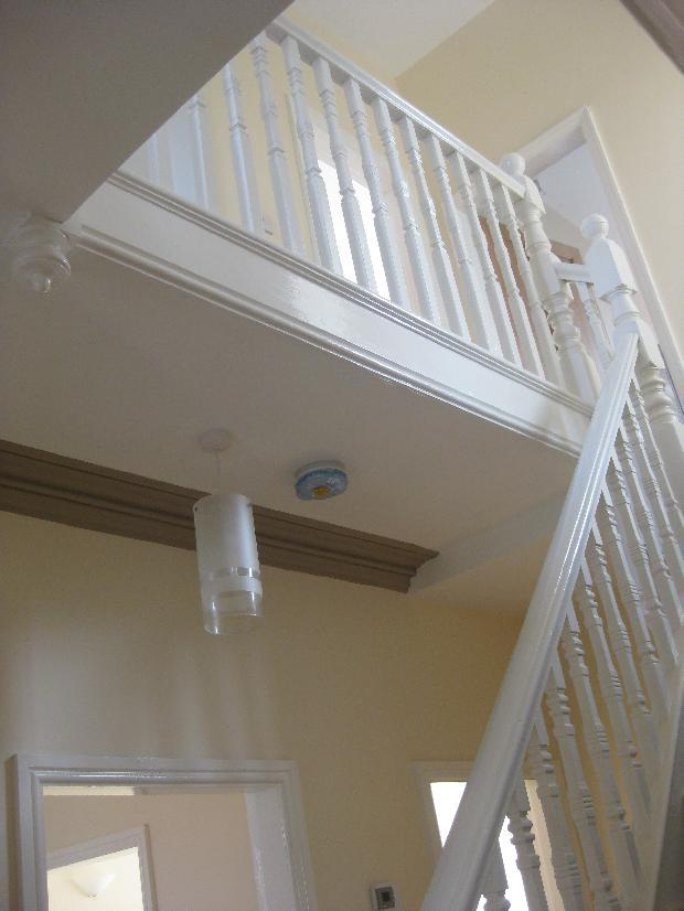 Staircase with original spindles