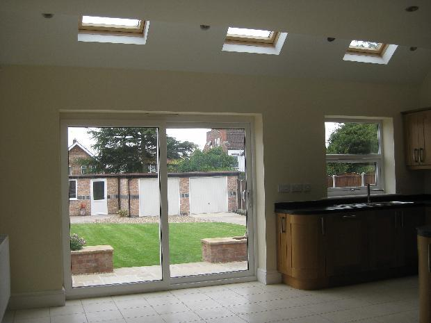 Kitchen-Dining roof windows