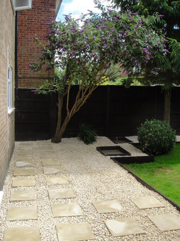 Established rear garden