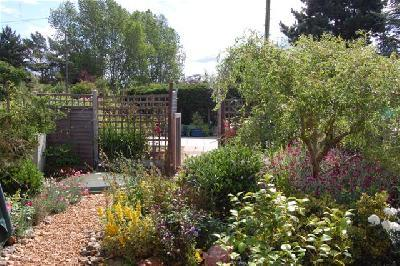 Front garden to car park