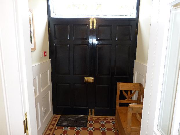 Front Vestibule with mosiac tiled floor