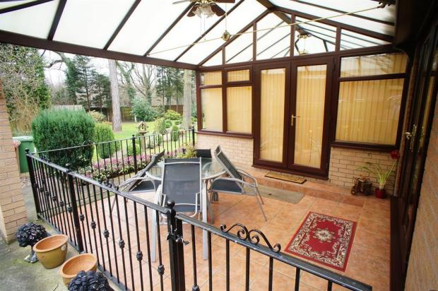 Conservatory / Outside Dining Area