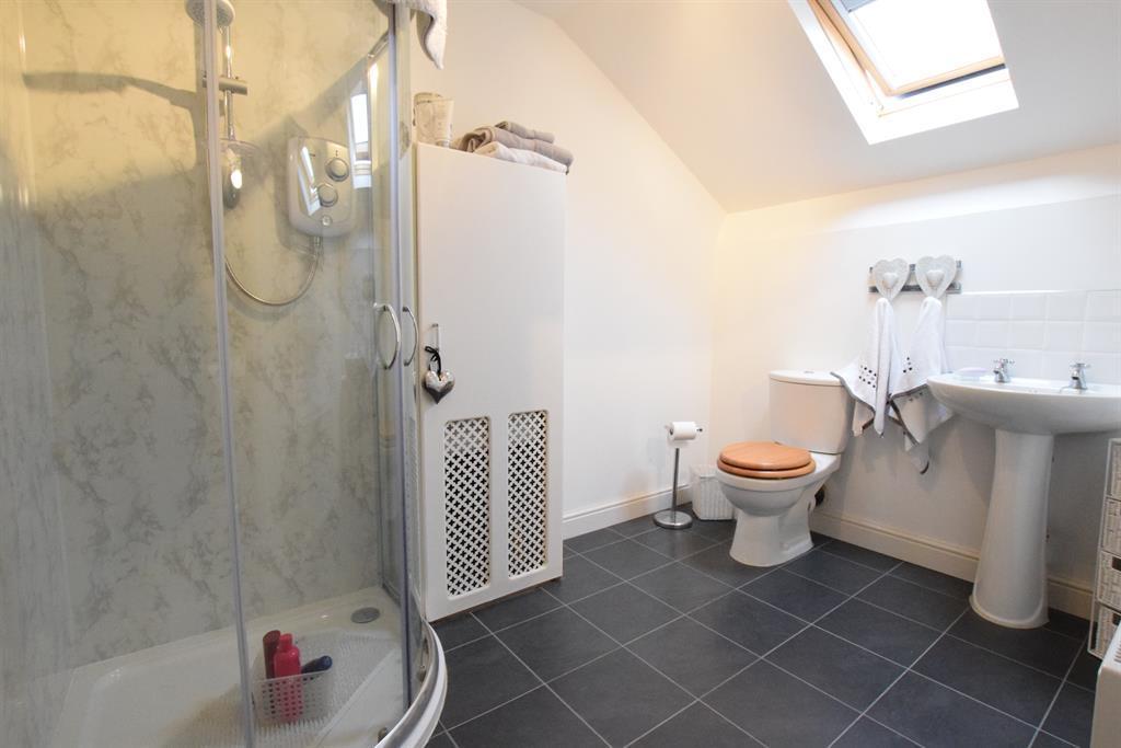 Loft space-shower/toilet