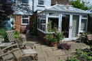 CONSERVATORY AND PATIO