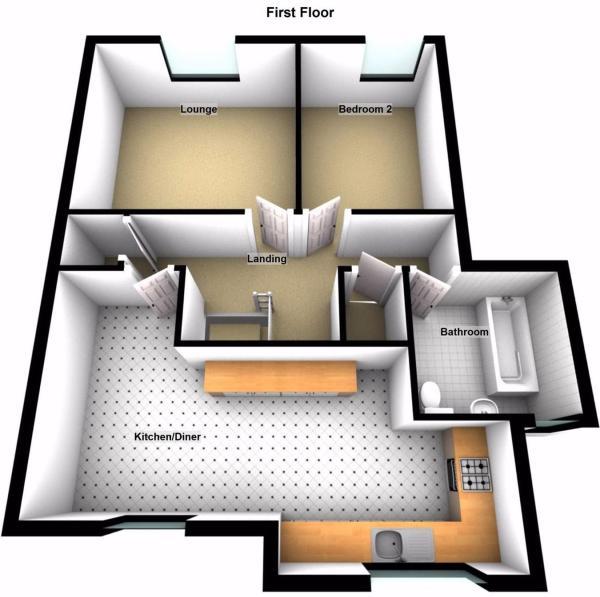 Floorplans-First Fl