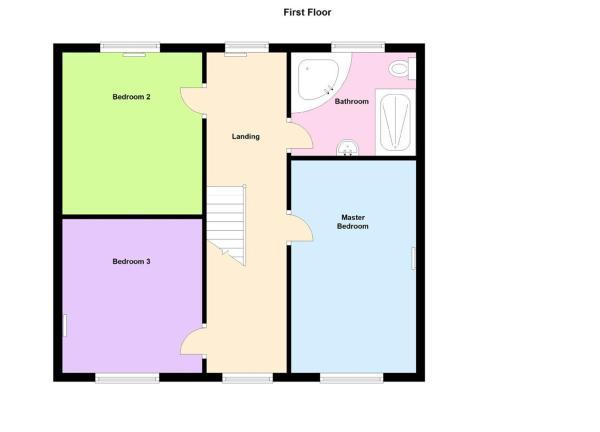 Floor Plan-First Fl