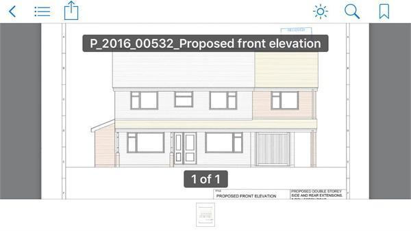 Proposed Front Elev