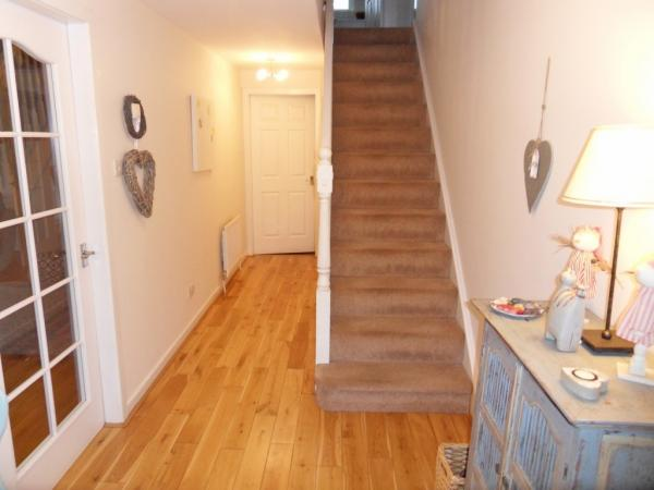 Lower Hallway and Stairs