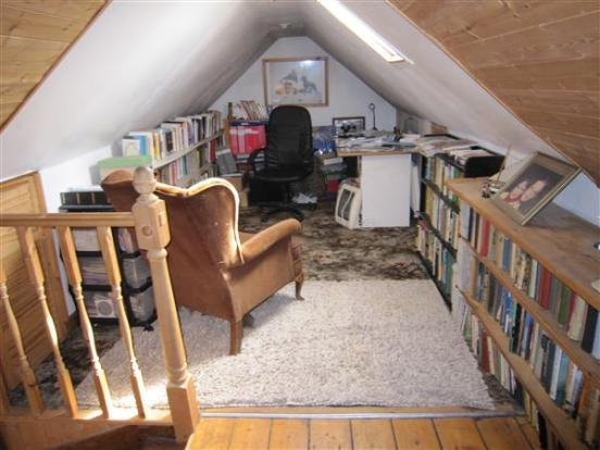 Upstairs Study
