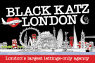 Black Katz, East London branch logo