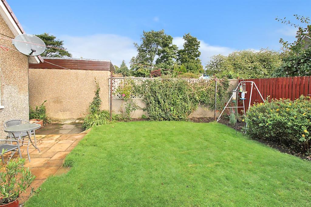 Rear garden with