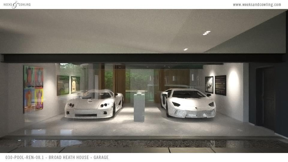Garage From Pool