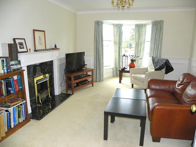 photo of cream white living room lounge