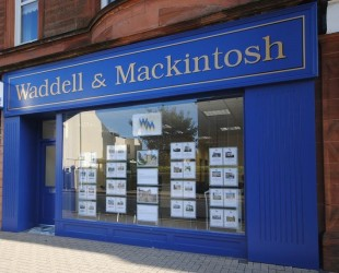 Waddell & Mackintosh, Troonbranch details