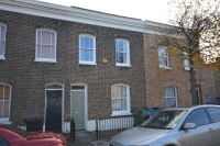 Terraced property in Strickland Street...