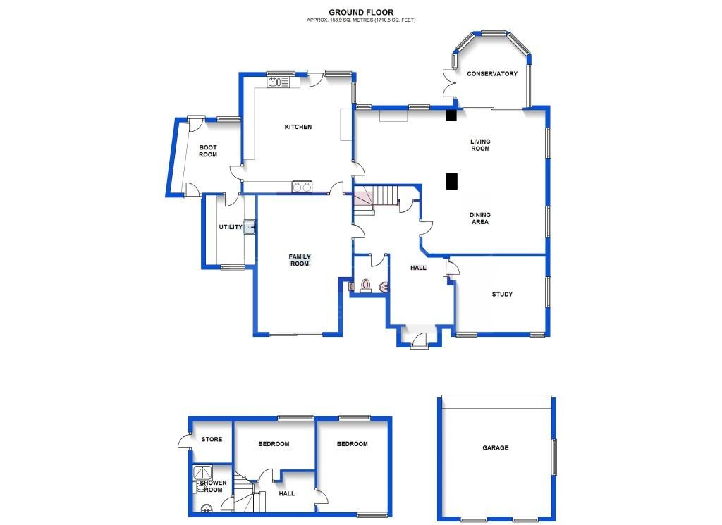 Floor Plan Ground Fl