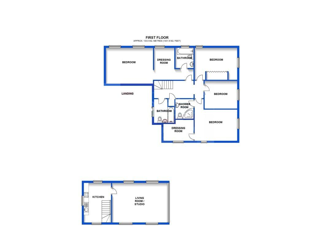 Floor Plan First Flo